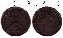 Изображение Монеты Европа Великобритания 1 фартинг 1883 Бронза XF-