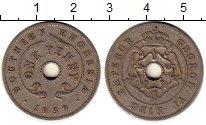 Изображение Монеты Великобритания Родезия 1 пенни 1939 Медно-никель XF