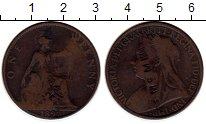 Изображение Монеты Европа Великобритания 1 пенни 1897 Медь VF