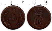 Изображение Монеты Дания 2 эре 1906 Бронза XF