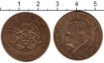 Изображение Монеты Монако 10 франков 1979 Бронза XF