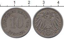 Изображение Монеты Германия 10 пфеннигов 1903 Медно-никель XF