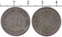 Изображение Монеты Германия 10 пфеннигов 1903 Медно-никель XF G