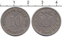 Изображение Монеты Германия 10 пфеннигов 1903 Медно-никель XF J