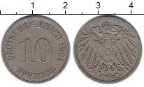 Изображение Монеты Европа Германия 10 пфеннигов 1905 Медно-никель XF