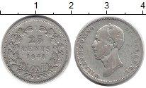 Изображение Монеты Европа Нидерланды 25 центов 1848 Серебро VF