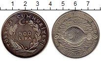 Изображение Монеты Турция 500 лир 1984 Медно-никель UNC-