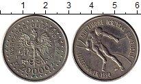 Изображение Монеты Европа Польша 20000 злотых 1993 Медно-никель UNC-