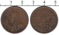 Изображение Монеты Индия 1/4 анны 1934 Бронза VF Георг V