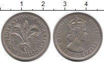 Изображение Монеты Африка Нигерия 1 шиллинг 1962 Медно-никель XF