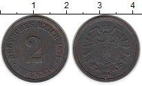 Изображение Монеты Европа Германия 2 пфеннига 1874 Медь XF-