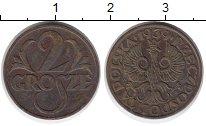Изображение Монеты Польша 2 гроша 1939 Бронза XF