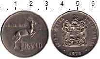 Изображение Монеты ЮАР 1 ранд 1978 Медно-никель UNC-