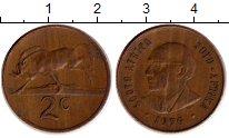 Изображение Монеты Африка ЮАР 2 цента 1979 Бронза XF
