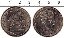 Изображение Монеты Конго Заир 20 макута 1976 Медно-никель UNC-