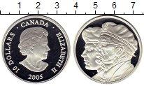 Изображение Монеты Канада 10 долларов 2005 Серебро Proof