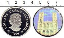 Изображение Монеты Северная Америка Канада 20 долларов 2006 Серебро Proof
