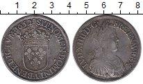 Изображение Монеты Франция 1 экю 1652 Серебро XF-