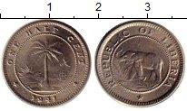 Изображение Монеты Африка Либерия 1/2 цента 1941 Медно-никель UNC