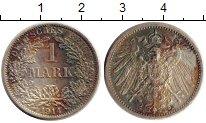 Изображение Монеты Европа Германия 1 марка 1914 Серебро VF