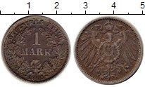 Изображение Монеты Европа Германия 1 марка 1905 Серебро XF