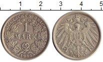 Изображение Монеты Европа Германия 1 марка 1915 Серебро XF