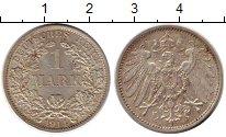 Изображение Монеты Европа Германия 1 марка 1914 Серебро XF