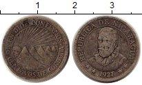 Изображение Монеты Никарагуа 10 сентаво 1927 Серебро VF