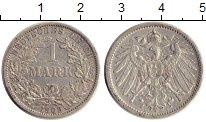 Изображение Монеты Германия 1 марка 1902 Серебро XF A