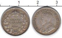 Изображение Монеты Северная Америка Канада 5 центов 1917 Серебро XF