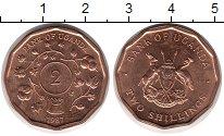 Изображение Монеты Уганда 2 шиллинга 1987 Бронза UNC-