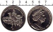 Изображение Мелочь Северная Америка Виргинские острова 1 доллар 2014 Медно-никель UNC