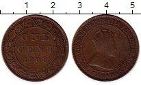 Изображение Монеты Канада 1 цент 1908 Медь XF