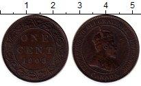 Изображение Монеты Северная Америка Канада 1 цент 1903 Медь XF