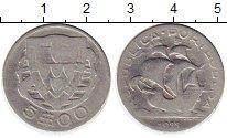 Изображение Монеты Европа Португалия 5 эскудо 1933 Серебро VF