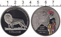 Изображение Монеты Африка Конго 5 франков 2006 Медно-никель Proof-