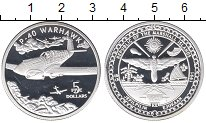 Изображение Монеты Австралия и Океания Маршалловы острова 5 долларов 1991 Серебро Proof-