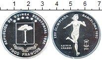 Изображение Монеты Экваториальная Гвинея 7000 франков 1992 Серебро Proof