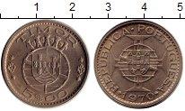 Изображение Монеты Азия Тимор 5 эскудо 1970 Медно-никель UNC-