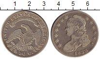 Изображение Монеты Северная Америка США 50 центов 1833 Серебро XF