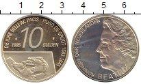 Изображение Монеты Европа Нидерланды 10 гульденов 1995 Серебро Proof-