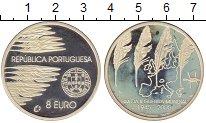 Изображение Монеты Европа Португалия 8 евро 2005 Серебро Proof-