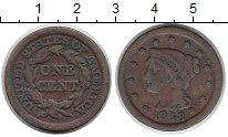Изображение Монеты США 1 цент 1848 Медь XF-