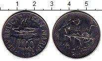 Изображение Монеты Европа Сан-Марино 100 лир 1978 Сталь UNC-