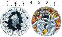 Изображение Монеты Ниуэ 1 доллар 2015 Серебро Proof Год козы