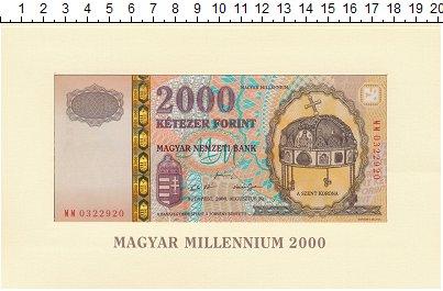 Изображение Банкноты Европа Венгрия 2000 форинтов 2000  UNC