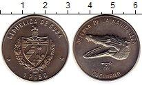 Изображение Монеты Куба 1 песо 1985 Медно-никель UNC-