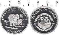 Изображение Монеты Африка Либерия 5 долларов 2000 Серебро Proof-