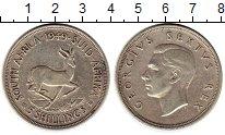 Изображение Монеты Африка ЮАР 5 шиллингов 1949 Серебро XF