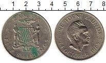 Изображение Монеты Замбия 5 шиллингов 1965 Медно-никель XF